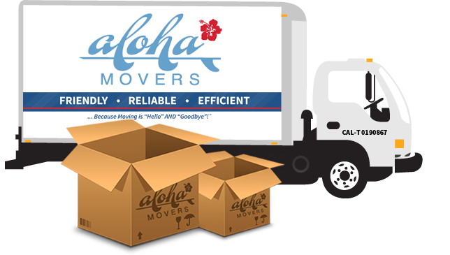 aloha moving truck
