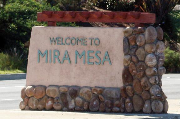 Mira Mesa Welcome
